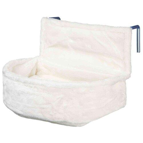 Гамак для кошек TRIXIE Cuddly Bag 45х33х13 см белый