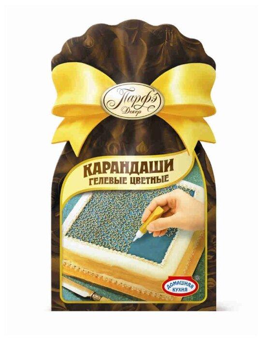 Топ Продукт Декор кондитерский карандаши гелевые цветные 64 г