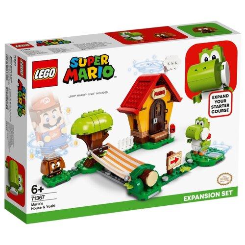 Купить Конструктор LEGO Super Mario 71367 Дополнительный набор Дом Марио и Йоши, Конструкторы