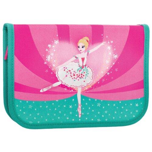 TIGER FAMILY Пенал Ballerina (228890) розовый/зеленый tiger family пенал rainbow butterfly 228885 розовый