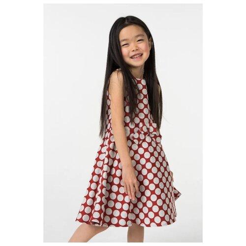 Платье Sarabanda размер 122, красный платье oodji ultra цвет красный белый 14001071 13 46148 4512s размер xs 42 170
