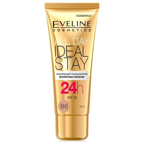 Eveline Cosmetics Тональный крем All Day Ideal Stay, 30 мл, оттенок: 86 Beige