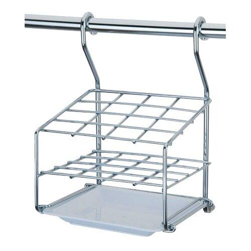 Фото - Подставка для столовых приборов Esprado Platinos 0011520E215, 15х14, 9х22, 2 см сушилка для посуды esprado platinos 0024222e212 42 5х43х22 5 см