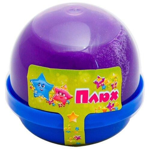 Лизун Плюх в капсуле фиолетовый