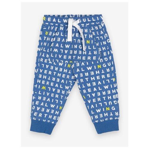 Брюки Gulliver Baby 12034BBC5604 размер 92, синий платье gulliver baby размер 92 синий
