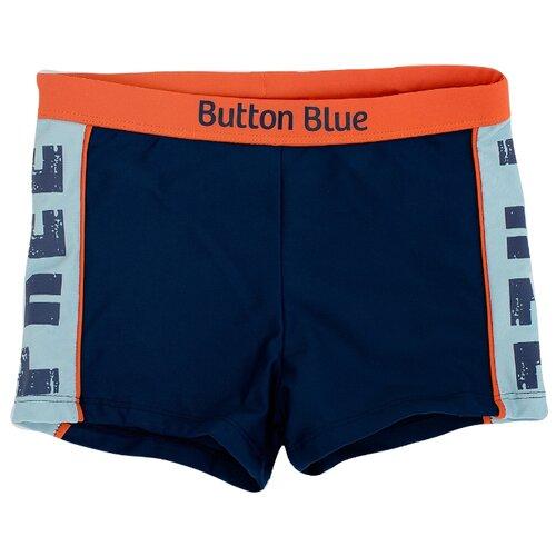 Купить Плавки Button Blue размер 98-104, синий, Белье и пляжная мода
