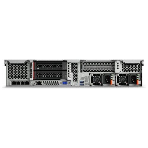 Сервер Lenovo ThinkSystem SR650 7X06A0AZEA 1 x Intel Xeon Silver 4214 2.2 ГГц/32 ГБ DDR4/без накопителей/1 x 1100 Вт/LAN 1 Гбит/c