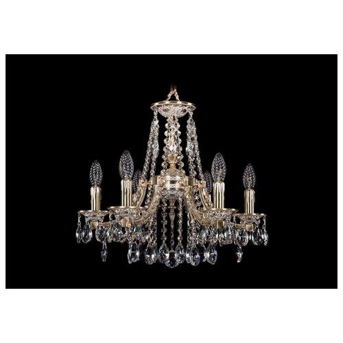 Фото - Люстра Bohemia Ivele Crystal 1771 1771/6/150/A/GW, 240 Вт люстра bohemia ivele 1771 6 150 a g