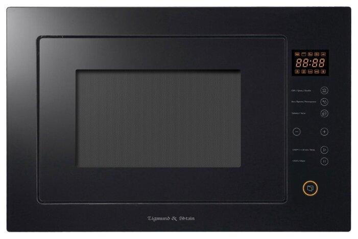 Микроволновая печь встраиваемая Zigmund & Shtain BMO 15.252 B — купить по выгодной цене на Яндекс.Маркете