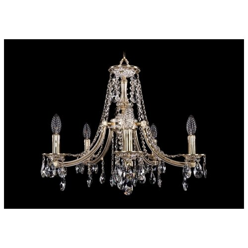 Люстра Bohemia Ivele Crystal 1771 1771/5/190/A/GW, E14, 200 Вт люстра bohemia ivele crystal 1771 12 340a gw