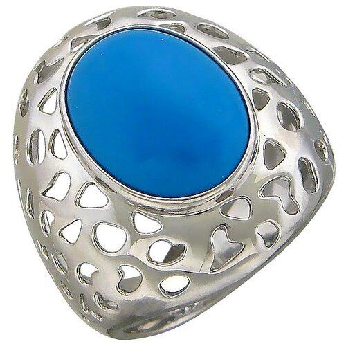 Эстет Кольцо с авантюринами из серебра С15К451494, размер 18 ЭСТЕТ