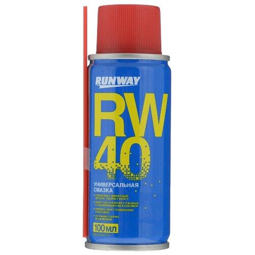 Автомобильная смазка RUNWAY RW-40 0.1 л cd rw диск intro сd rw 4x 12x 700mb cakebox