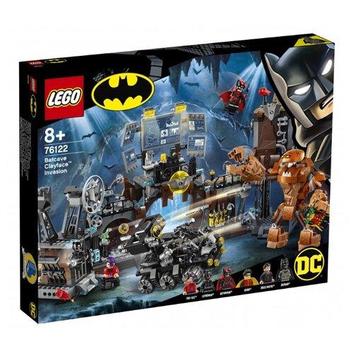 цена Конструктор LEGO DC Super Heroes 76122 Вторжение Глиноликого в бэт-пещеру онлайн в 2017 году