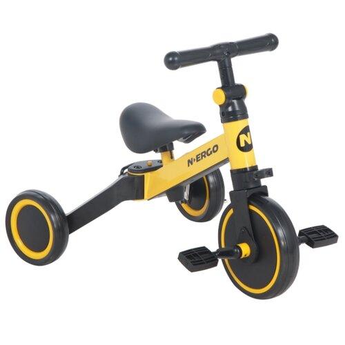 Трехколесный велосипед N.Ergo A006 yellow, Трехколесные велосипеды  - купить со скидкой