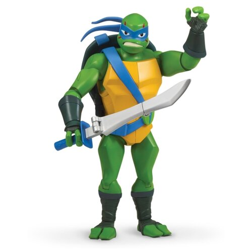 цена на Фигурка Playmates TOYS Rise of the Teenage Mutant Ninja Turtles: Battle Shell Leonardo 81455