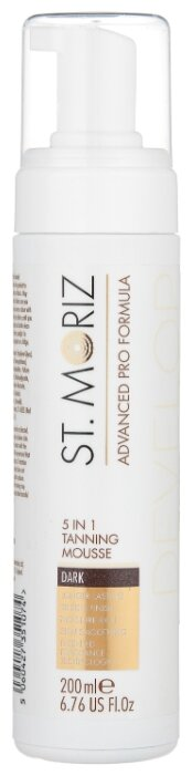 Мусс для автозагара St.Moriz Advanced Pro 5 In 1 Tanning Mousse Dark