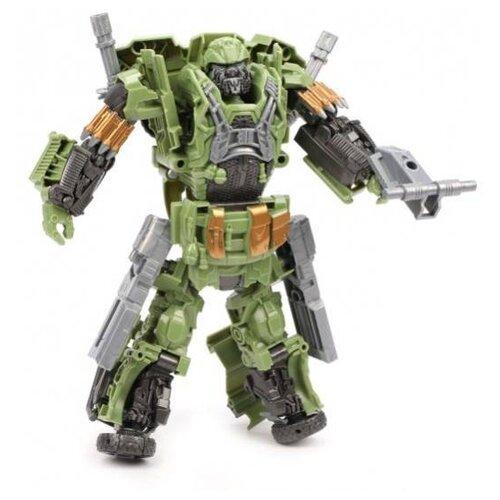 Купить Трансформер Наша игрушка Evenly Matched Robot Series 1981 зеленый/серый, Роботы и трансформеры