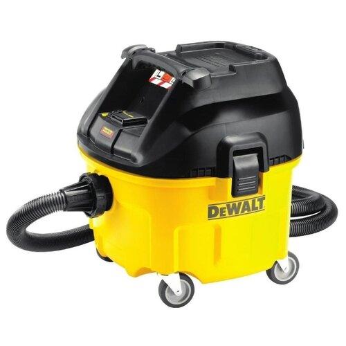 Профессиональный пылесос DeWALT DWV901L 1400 Вт желтый/черный