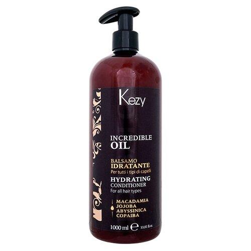 Купить KEZY кондиционер Hydrating Incredible Oil увлажняющий для всех типов волос, 1000 мл