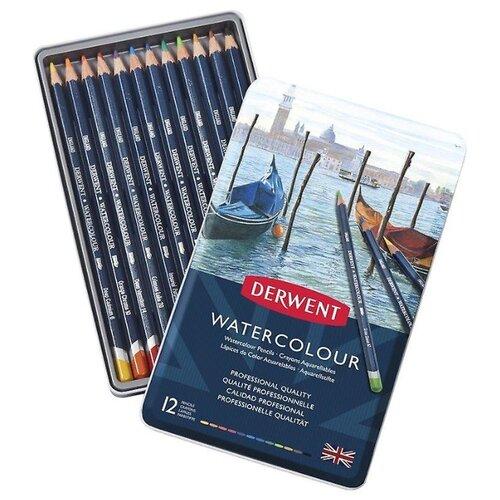 Derwent Акварельные карандаши Watercolour, 12 цветов (32881)