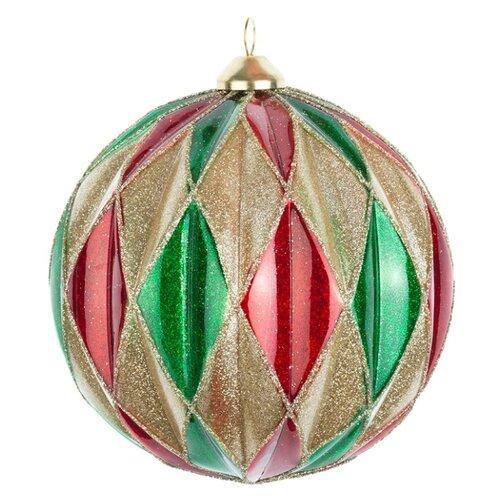 Набор шаров KARLSBACH 08564, красный/зеленый/золотой