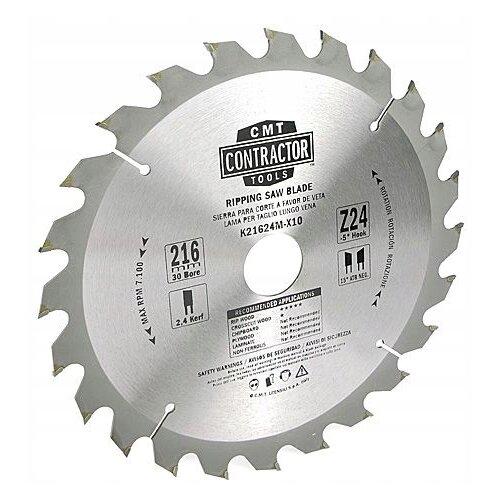 Пильный диск CMT K21624M-X10 216х30 мм диск пильный твердосплавный cmt 226 060 10m