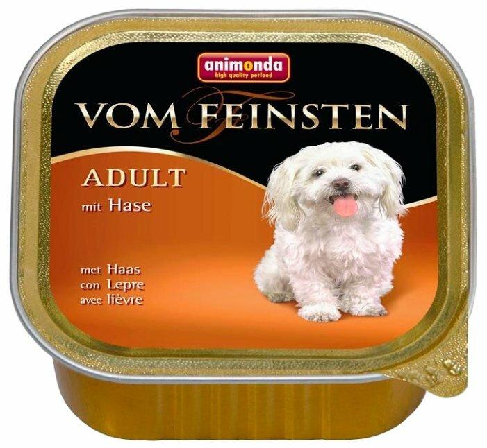 Корм для собак Animonda Vom Feinsten кролик 22шт. х 150г