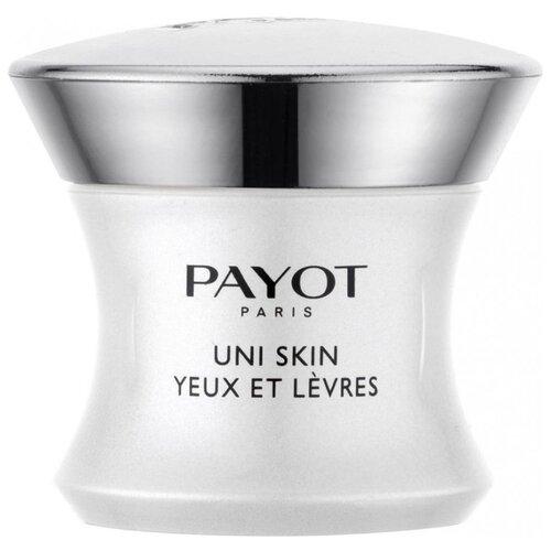 Payot Крем для области вокруг глаз и губ Uni Skin Yeux Et Levres 15 мл средство для глаз и губ payot les demaquillantes 125 мл моментально очищающее и разглаживающее