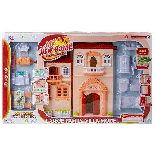 Купить Hechengle кукольный домик My New Home, 1698294, бежевый, Кукольные домики