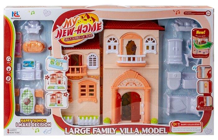 Hechengle кукольный домик My New Home, 1698294