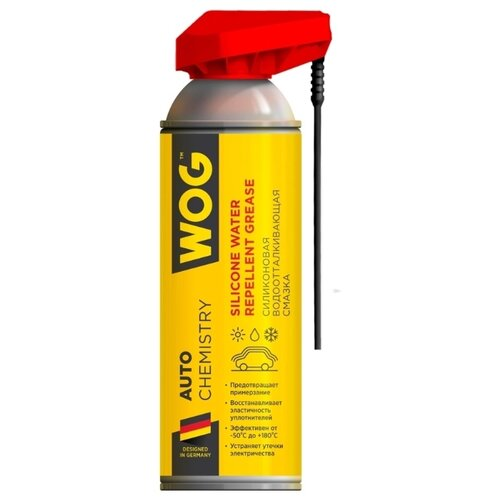Смазка WOG Silicone water repellent grease 0.335 л