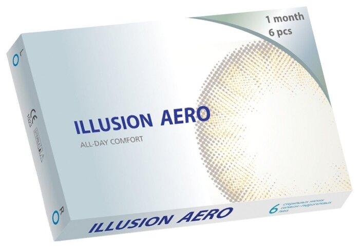 Купить Контактные линзы ILLUSION Aero (6 линз) R 8,6 D -4,5 по низкой цене с доставкой из Яндекс.Маркета (бывший Беру)