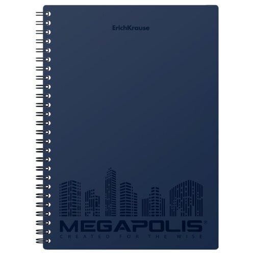 ErichKrause Упаковка тетрадей Megapolis 45946, 4 шт., клетка, 80 л.