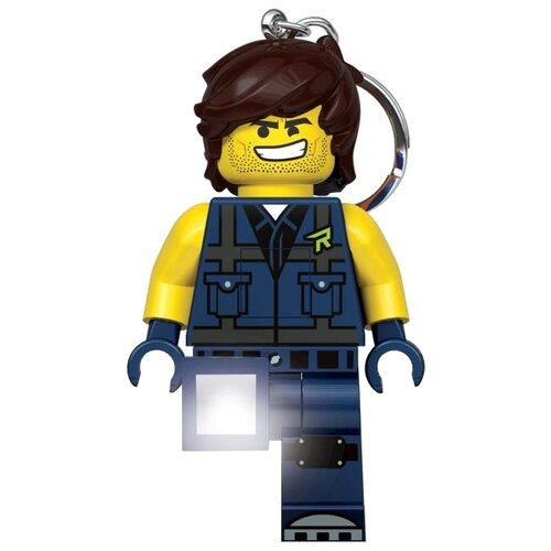 Брелок-фонарик LEGO LGL-KE152, синий/желтый брелок фонарик lego lgl ke65 красный