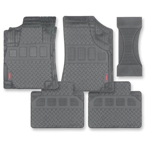 Комплект ковриков AUTOPROFI MAT710 5 шт. серый