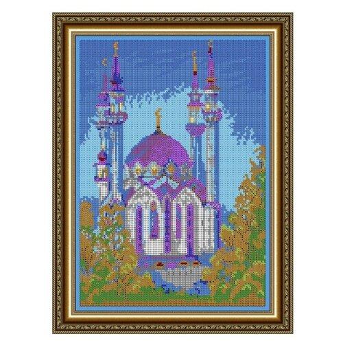 Купить Диамант Набор алмазной вышивки Мечеть (ДК-454П) 30х38 см, Алмазная вышивка