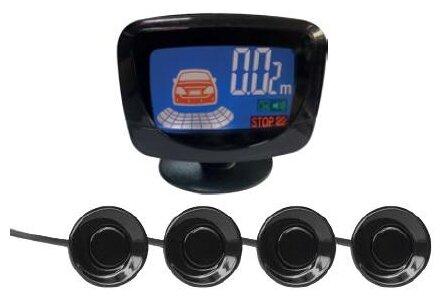 Avs Ps-524u Парктроник (4 датчика+коннекторы, LCD дисплей)