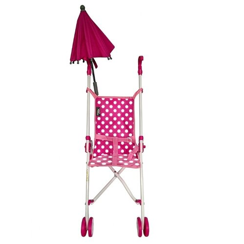 Купить Прогулочная коляска RT 6100U фуксия, Коляски для кукол