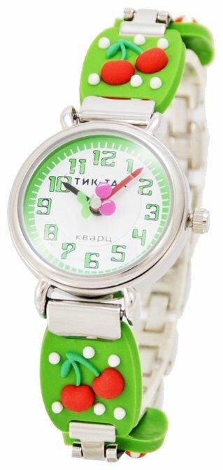 Наручные часы Тик-Так H108-3 Зеленые вишни