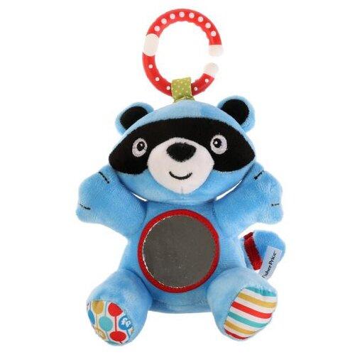 Купить Подвесная игрушка Fisher-Price Енот (GH62738) голубой/красный, Подвески