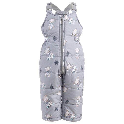 Купить Полукомбинезон Gulliver Baby 21932GBC6702 размер 86, серый, Полукомбинезоны и брюки