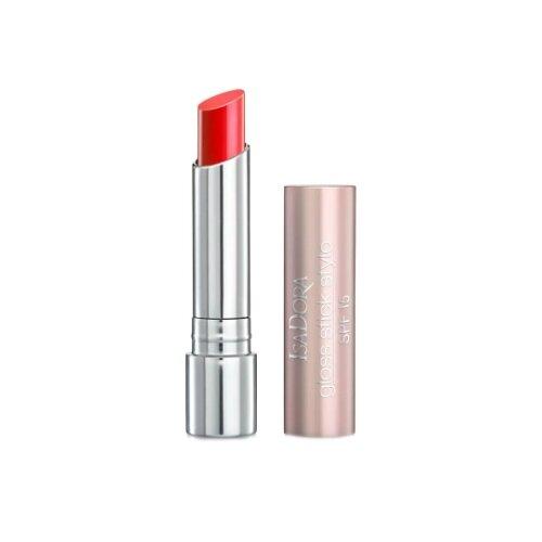 IsaDora Помада для губ Gloss Stick Stylo SPF 15 увлажняющая, оттенок 30 Sunshine Red