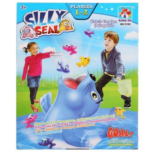 цена на Набор для игры Rong Fei Silly Seal 5100 голубой/розовый