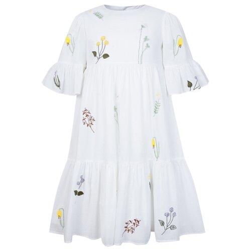 Платье Il Gufo размер 104, белый