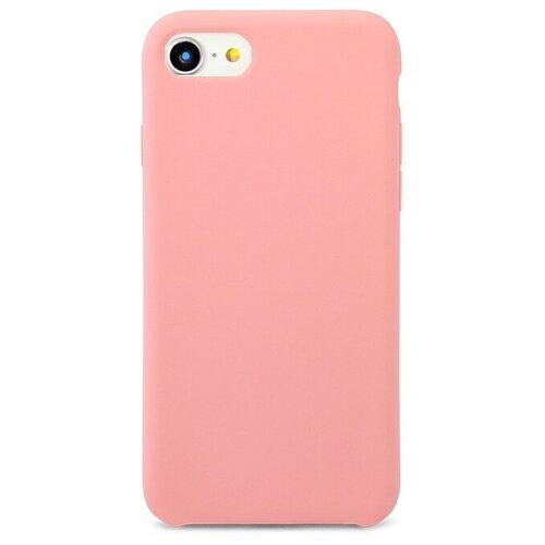 Чехол Pastila Silicone Case для Apple iPhone 7/iPhone 8 розовый skinbox silicone chrome border color style 1 4people чехол для apple iphone 7 8 green