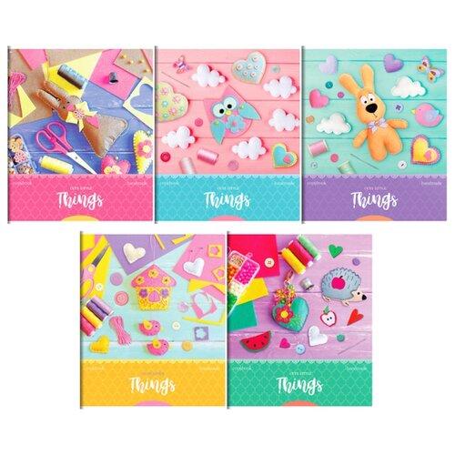 Купить ArtSpace Упаковка тетрадей Handmade hearts Т96к_20986, 5 шт., клетка, 96 л., Тетради