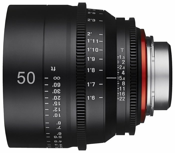 Объектив Xeen 50mm T1.5 Nikon F (XN50-N)