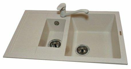 Врезная кухонная мойка Elegrum ES-21 77.2х49.5см полимер