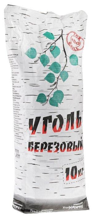 УгольФорест Уголь березовый для мангалов, 10 кг