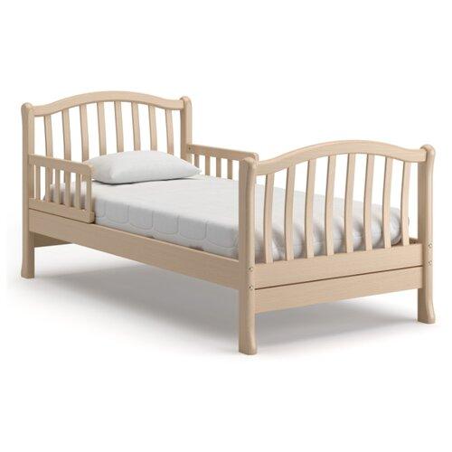 Кровать детская Nuovita Destino, размер (ДхШ): 176.5х87 см, спальное место (ДхШ): 160х80 см, каркас: массив дерева, цвет: sbiancato